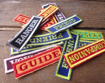 Vintage Cloth Patches FREE SHIPPING
