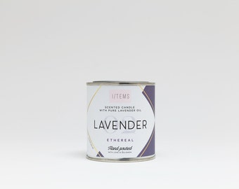 LAVENDER  / SCENTED CANDLE