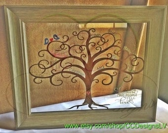 Family Tree | Personalized Gift | Birthday Gift | New Home Present | House Warming Gift | Unique | Anniversary Gift