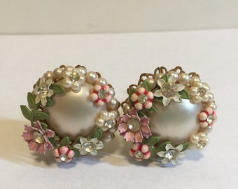 Pearl and Rhinestone Drawer Knobs | Decorative knobs