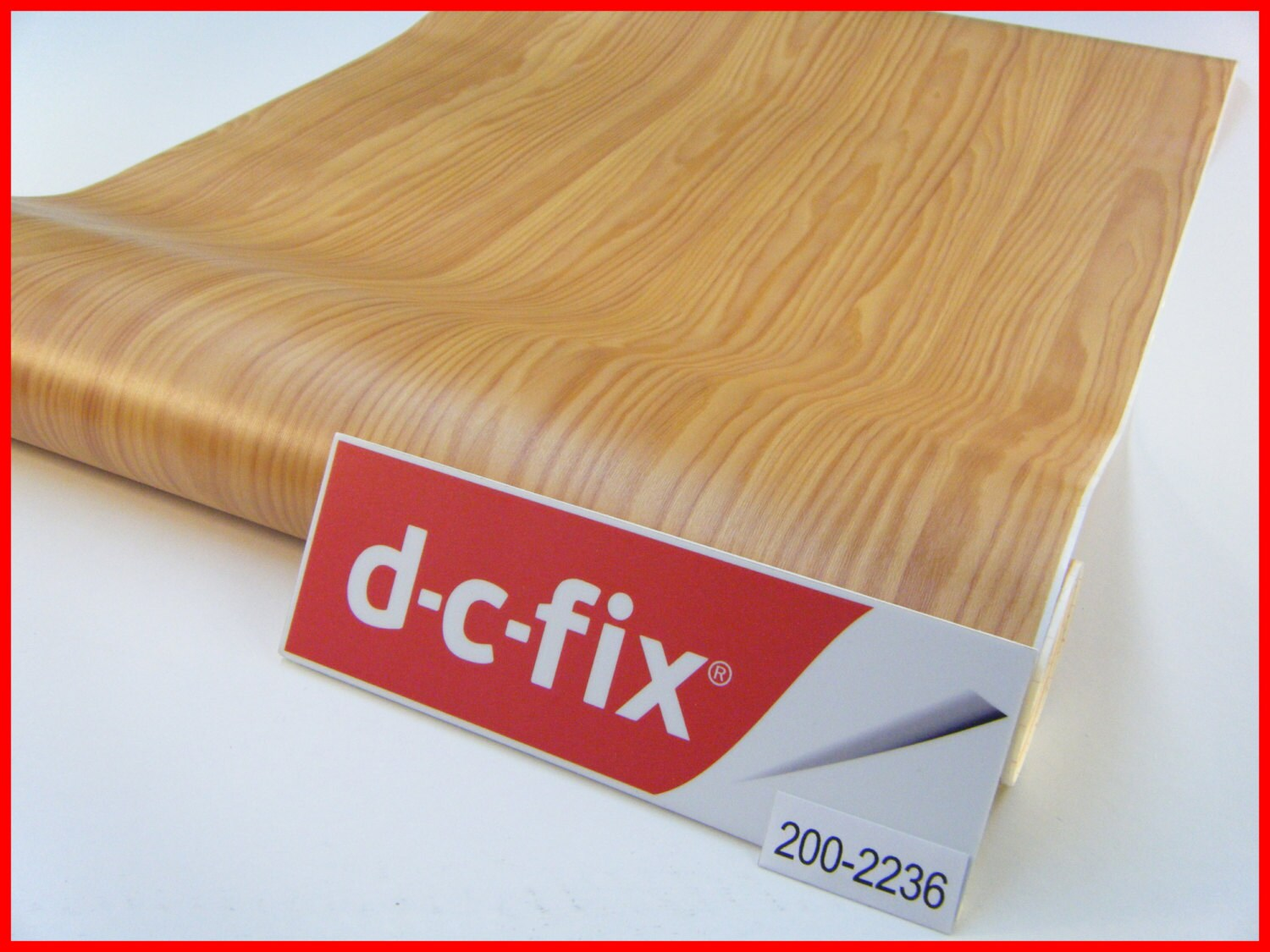 Dc fix wood grain 1m x 45cm design sticky back self for Dc fix fensterfolie