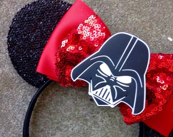 Darth Vader inspired Mouse Ears