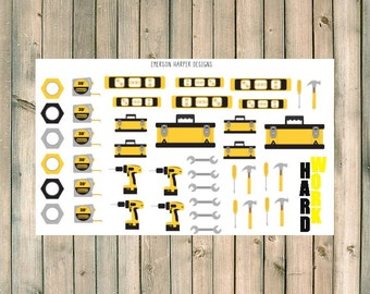 Tool Planner Stickers