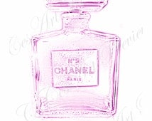 beliebte artikel f r chanel perfume photo auf etsy. Black Bedroom Furniture Sets. Home Design Ideas