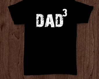 Dad cubed t-shirt tee shirt tshirt Christmas dad father daddy family fun father's day grandfather family gift for dad best dad top dad fun