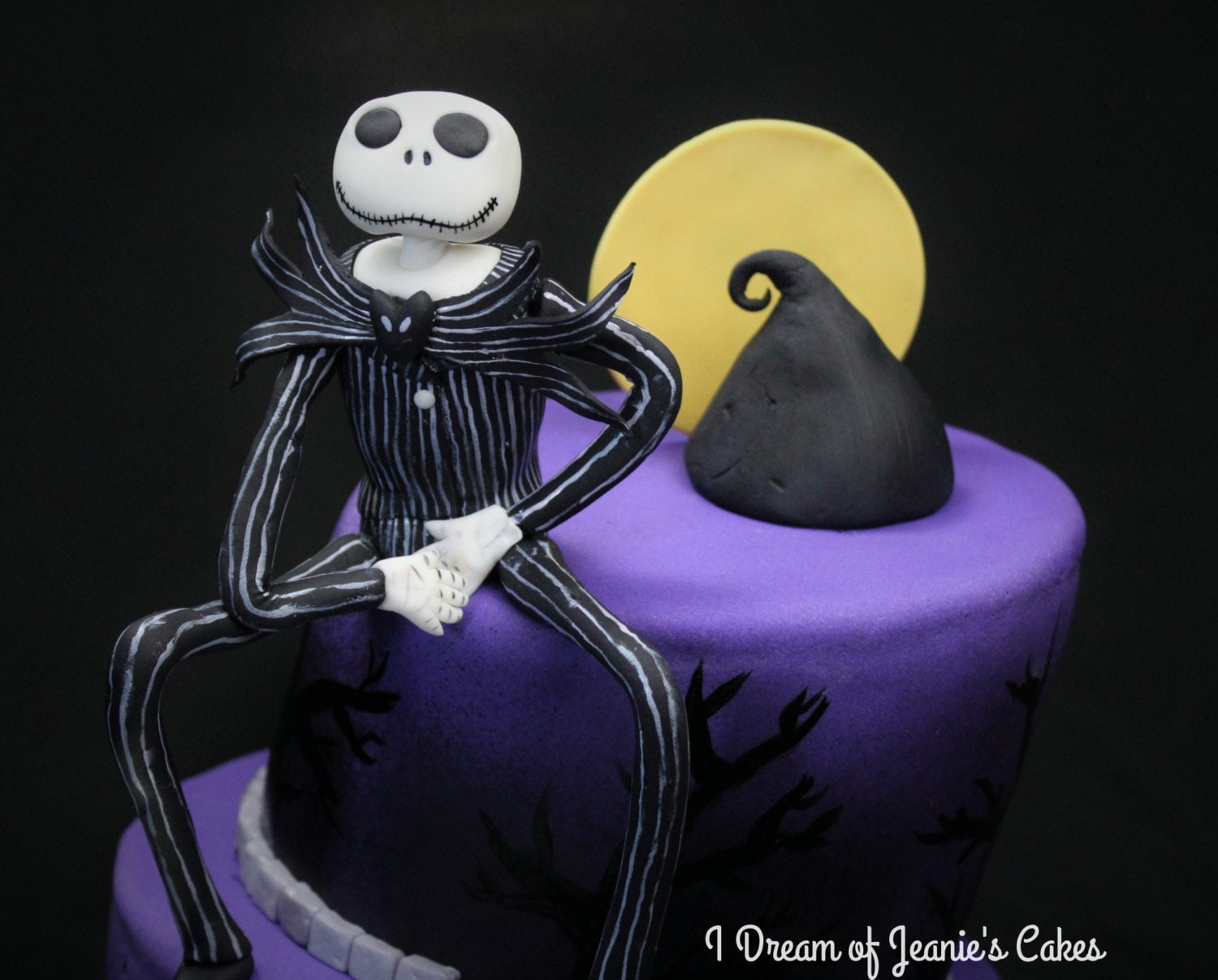 Nightmare Before Christmas Cake Toppers