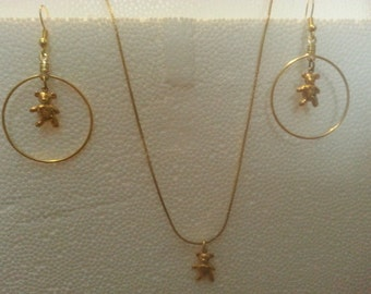 """Shop """"bear necklace"""" in Jewelry Sets"""