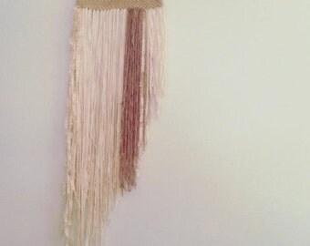 Handmade Yarn Wallhanging