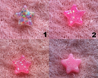 Small Resin Star Charm