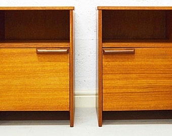 Mid-Century Bedside Cabinets by Avalon