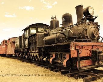 Old Train 8x10 Glossy print