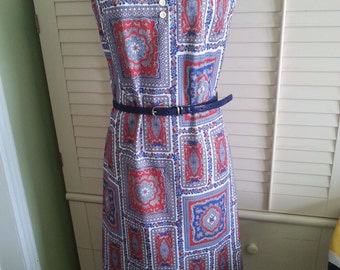 Vintage dress, vintage hippie dress, hippie dress, bohemian dress, bohemian style dress, vintage bohemian dress, 1970's dress A6