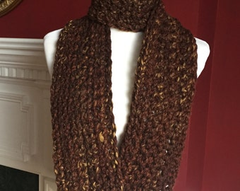 SCARF -- Chunky Long and Thin Infinity Scarf