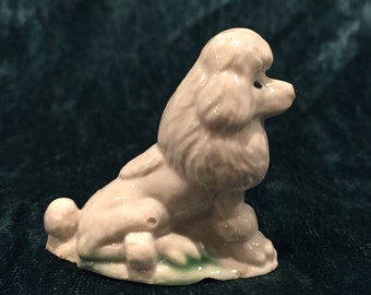 Wade Whimsies Poodle - CA 1970's - Item WA43D