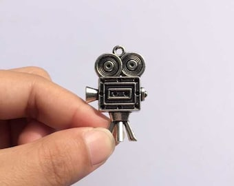 Antique 3D Movie Projector Charms Diy Jewelry Findings Accessories 39x25mm 10pcs T476