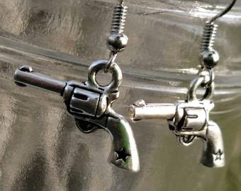 Pistol Earrings