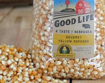 Nebraska Gourmet Yellow Popcorn - BNEB5016