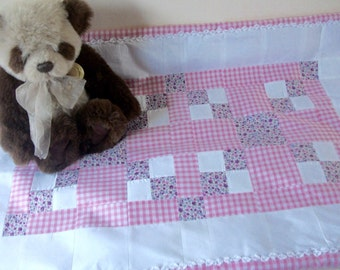 SALE! Baby patchwork quilt/ play mat