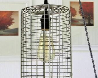 Rotisserie Pendant Light, Industrial Light
