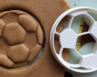 Cookie Cutter Soccer ball Football cookiecutter cookies custom shape custom size custom picture