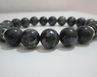 Labradorite, bracelet of Labradorite, bracelet women, bracelet stones semi-precious, gift, gift for woman