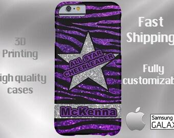 ALL STAR CHEERLEADER Cell Phone Case, cheer cell case, iPhone 6, cheer iPhone 6, cheer iPhone 6 plus cell phone case, cheerleading cell case