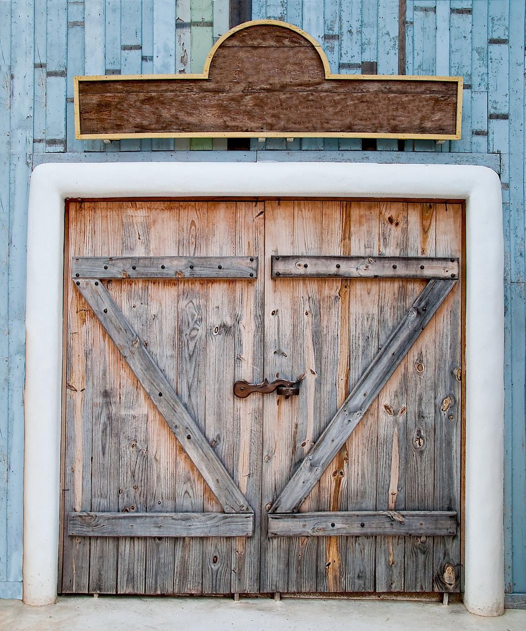 White barn door   Etsy