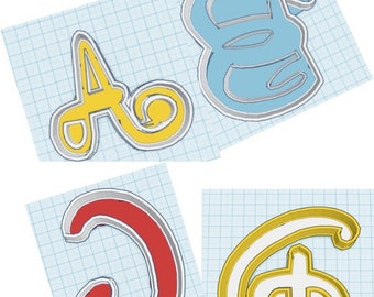 Disney Letters A - H