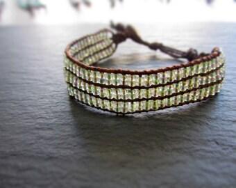 Rainbow Sand Bead Bracelet