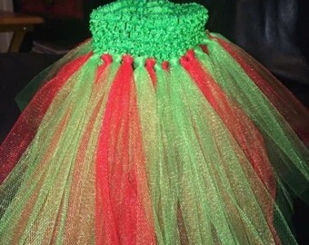 Red/green tutu