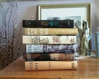 Anne Rice Choice First Editions Hardcover Book Queen Damned Servant Bones Lasher Taltos Memnoch Devil Choice Book