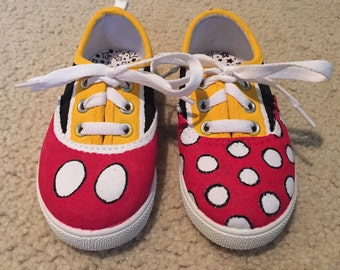 Mickey and Minnie Mouse Custom Sneakers