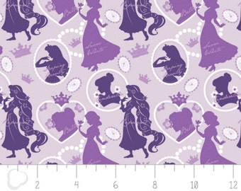 Disney Silhouette in Purple Fabric From Camelot