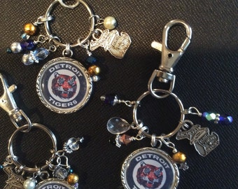 Detroit Tigers purse charm