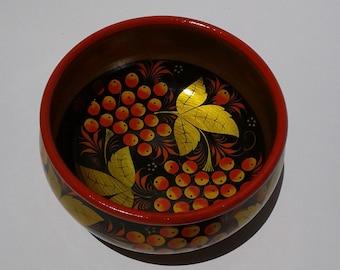 Khokhloma Russian Bowl  (161016)