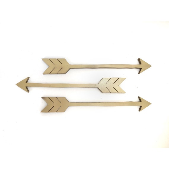Wall Decor Wooden Arrows : Wooden arrows arrow wall decor art set of