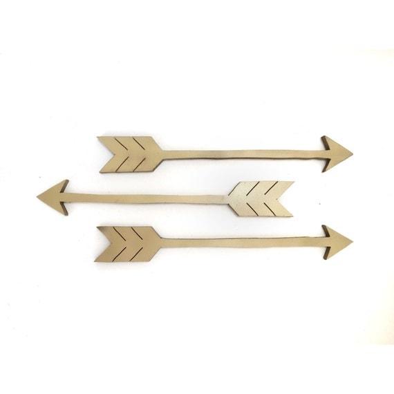 Arrows For Wall Decor : Wooden arrows arrow wall decor art set of