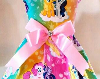 Adorable My Little Pony dog dress