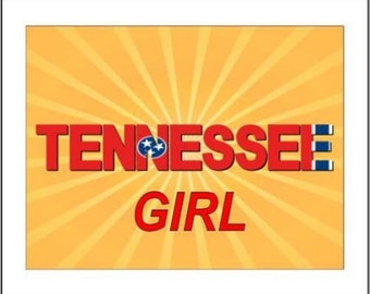 """2"""" x 3"""" Magnet Tennessee Girl MAGNET"""