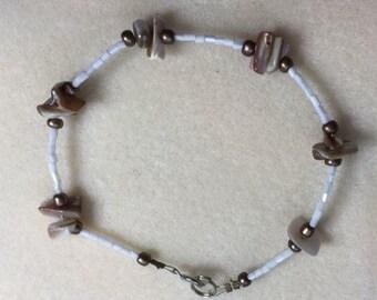 Shell and bead bracelet!
