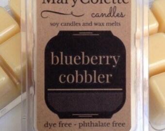 Blueberry Cobbler Soy Wax Melts | All Natural Soy Wax Melts | Scented Wax Cubes | Scented Wax Melts | Wax Melts