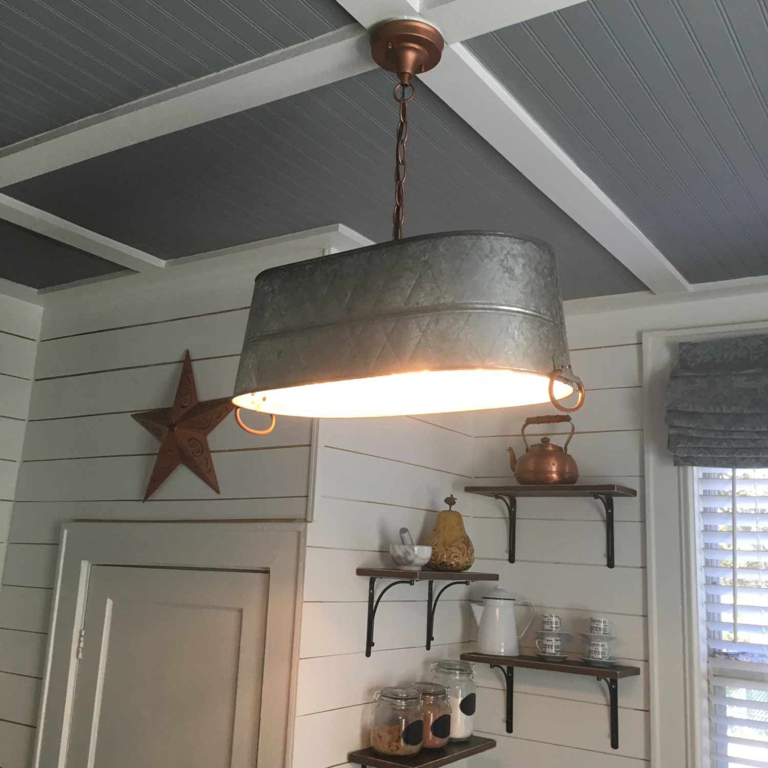 Rustic Light Fixture Farm House Light Fixture Farmhouse Light