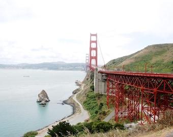 Golden Gate Bridge - Sausalito - San Francisco - California - USA - Photo - Print