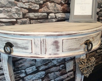 This item now SOLD. Hall chic hall table