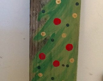 Rustic tree decor