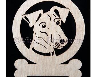 Pet Ornament-Jack Russell Ornament-Laser Cut Ornament-Wood Ornament-Jack Russell Gift-Free Personalization