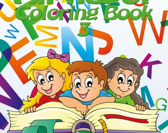 My First Alphabet Coloring Book 3