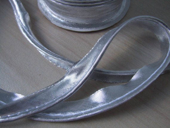 Silver Piping Trim Sewing Piping Pillow Cord Piping