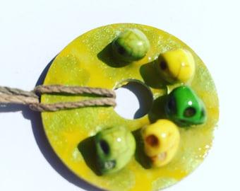 Lemon Lime Skulls