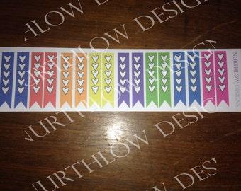 Checklists  #030 #029- Erin Condren, Pastels and brights